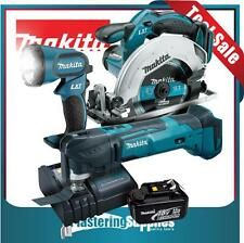 Makita LXT Cordless BSS611 Saw XMT03Z Multitool BML185 Torch Battery Charger