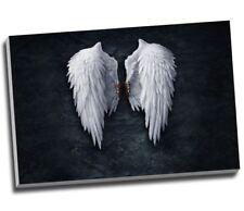 "Fallen Angel Wings Canvas Print Large A1 30x20"""