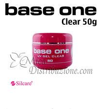 Silcare base one uv gel clear costruttore monofasico trasparente 50 g Promo