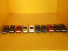 Automobili macchinine per plastico ferroviario scala 1:87-H0  pz.10 - Krea