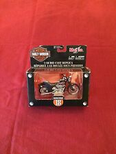 New In Box Harley Davidson 1997 FXSTB Bad Boy 1:18 Die Cast
