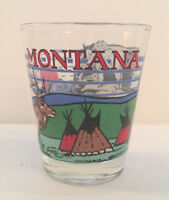 Shot Glass Montana