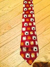 New Without Tag City Streets boys 100% silk sports ball theme necktie