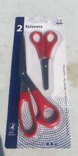 Pair of double ground stainless steel Scissors Sissors  21cm &14cm