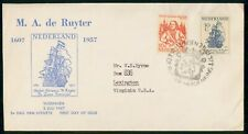 Mayfairstamps Netherlands FDC 1957 Ship Michiel Adraansz Ruyter First Day Cover