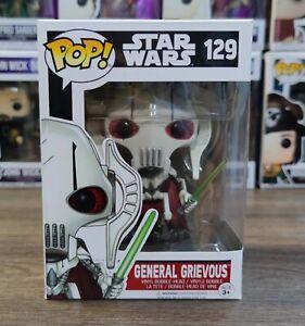 FUNKO POP! Star Wars #129 General Grievous Vinyl PVC Action Figures Models Toys