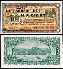 MEXICO SONORA  10 CENTAVOS 16 MARCH 1914 UNC  P.S1058 , REVOLUTION