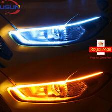 Usun 2x Sequential LED Strip Car Turn Signal Indicator DRL Daytime Running Light