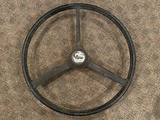 Vintage Freightliner Steering Wheel 22 Inch OEM Peterbilt KW Rat Rod Rare Semi