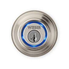 Weiser Kevo Smartkey 1-Cylinder Motorized Electronic Entry Door Deadbolt Smartph