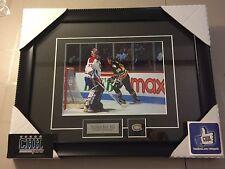 Patrick Roy Montreal Canadiens unsigned Hockey Frame Cadre Mario Lemieux NHL