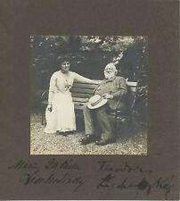 Theodor & Marie LESCHETIZKY (Pianists): Signed Photograph