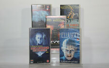 VHS Video Tape Horror Bundle - Hellraiser, Seven, Fright Night, George Romero