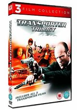 TRANSPORTER Complete Movie Collection DVD Set Part 1+2+3 All Films New Sealed
