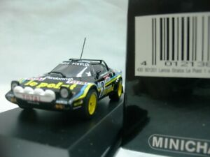 WOW EXTREMELY RARE Lancia Stratos HF 3 Darniche France 1980 ERC 1:43 Minichamps