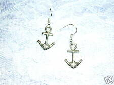 NEW COOL BOAT ANCHOR PIERCED FUN SAILOR GIRL EARRINGS