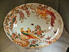 "ROYAL CROWN DERBY OLDE AVESBURY 16-1/4"" LONG OVAL SERVING or MEAT PLATTER!"