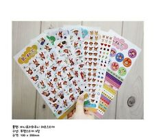 The Red Rabbit Girl Deco Stickers For Diary Day Planner & Organizer 6 Sheets