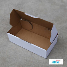200x Mailing Box 240x125x75mm White Carton 4 Australia POST 500g Prepaid Satchel