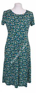 Seasalt Carnmoggas Dress Shawl Flower Light Squid Size 10 R BNWT NEW