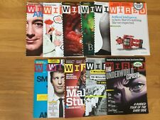 Wired magazine 2011 lot of 11 issues