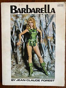 Barbarella by Jean-Claude Forest 1968 GROVE 1st Paperback Printing Jane Fonda