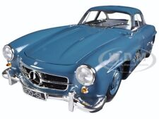 1954 MERCEDES 300 SL GULLWING W198 I BLUE LTD 336PCS 1/18 MINICHAMPS 180039007