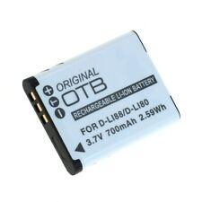 Original OTB Accu Batterij Sanyo DB-L80 Akku Battery Bateria - 700mAh 3.7V