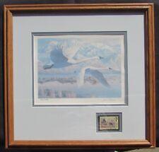 UTAH Migratory Waterfowl Duck Stamp & Print Artist Leon Parson - #'d 10135/14028
