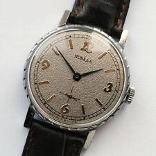 Beautiful Vintage POBEDA Russian Mechanical Wrist Watch. 15 jewels. Made in USSR