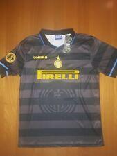 Maglia retro INTER finale Coppa Uefa 1998 Ronaldo Zanetti Recoba Simeone