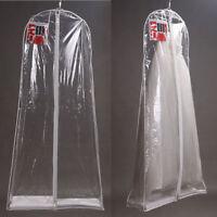 Large Transparent Bridal Gown Wedding Dress Dustproof Storage Bag Garment Cover