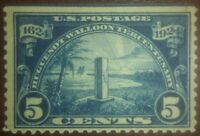 Travelstamps: US Stamps Scott # 616, Monument at Mayport, mint, og, not hinged