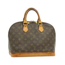 LOUIS VUITTON Monogram Alma Hand Bag M51130 LV Auth 15642