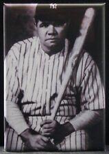 "Babe Ruth B & W Photo 2"" X 3"" Fridge / Locker Magnet. New York Yankees MLB"