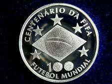 Brasilien,  2 Reais, 2004, 100 Jahre FIFA, Silber.! orig.! PP.! Rar.!