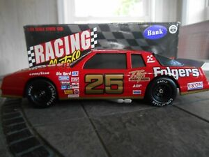 #25 Tim Richmond 1986 Folgers Monte Carlo Aerocoupe. Gold numbers 1/24 BANK.