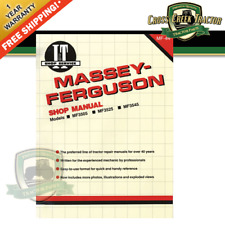 Itmf44 New Shop Manual For Massey Ferguson Tractors Mf3505 Mf3525 Mf3545