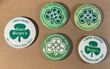 Tom Bergin's Los Angeles Irish bar St. Patrick's Day buttons