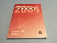 Service Manual 2004 Johnson Evinrude 5005634 Models 3.5 6 8 2-Stroke