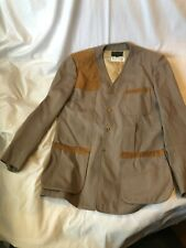 Vintage Abercrombie & Fitch Shooting Jacket Sz 38 Rare. Used In Filming Movies
