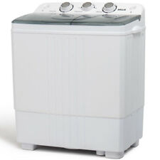 Dual Washing Machine Spin & Dryer Twin Tub Portable RV Top Load 5KG Compact HD