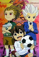 Inazuma Eleven / Future Card Buddyfight poster promo anime GO