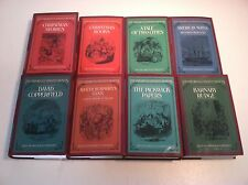 The Oxford Illustrated Dickens 8 Book Hardcover Lot Charles Dickens Classics