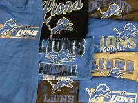Detroit Lions Men's Big & Tall XLT-6XL 2 T-SHIRTS!  *MYSTERY SHIRT* NFL A14MR