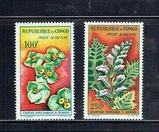 CONGO C8-C9, 1963 FLOWERS, MNH,  (ID2915)