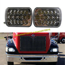 LED Headlights For International IHC Headlight Assembly 9200 9400i 9900 A Pair