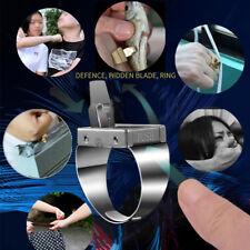 Ring Metal Mini Blade Exquisit Fashion Multifunctional Women Self-defense Finger