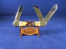 1986 Case 5394 SS Gunboat Canoe 5th Anniv. National Knife Museum Knife Mint 1269
