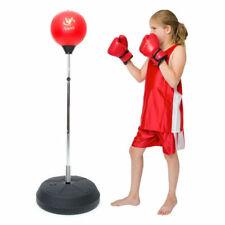 Viper Boxing Punch Bag Set Kick Junior Children Boys Standing Gloves VIP